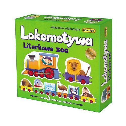 Lokomotywa - Literkowe ZOO - Adamigo, 5_605071