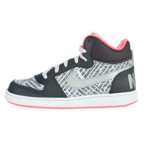 court borough mid kids sneakers czarny szary 37,5 marki Nike