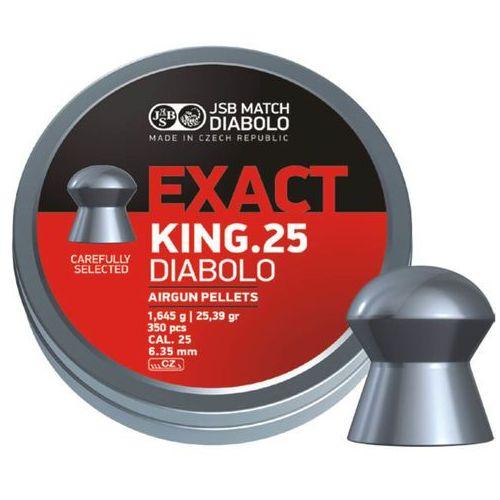 Śrut JSB Diabolo Exact King 6.35mm, 350szt (546298-350)