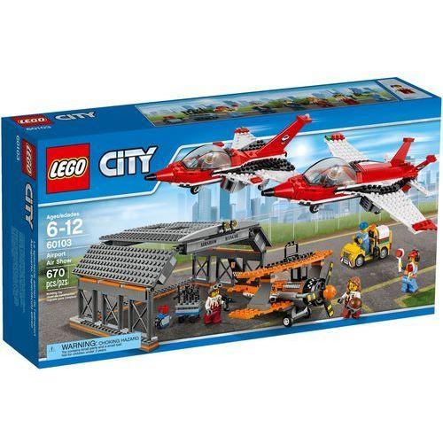 LEGO City 60103 Pokazy lotnicze. Najniższe ceny, najlepsze promocje w sklepach, opinie.