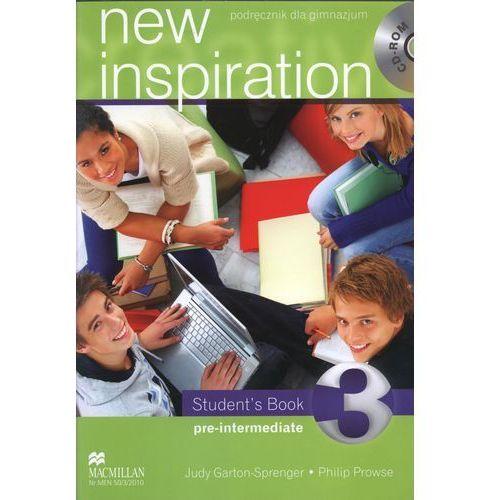 New Inspiration 3 Pre-Intermediate Student`s Book (+CD) (144 str.)