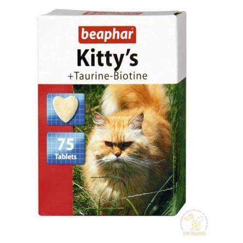 Beaphar Kitty's Taurine-Biotine - przysmak dla kotów z dodatkiem tauryny i biotyny 180tab, 8711231127832