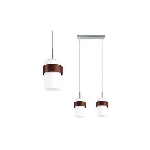 LAMPA wisząca MIELE LP-866/2P Light Prestige OPRAWA zwis tuby białe brązowe