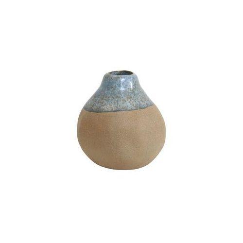 HK Living Niebiesko-brązowy ceramiczny wazon - HK Living ACE6017 (8718921008839)