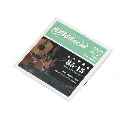 D′addario  ez 920 struny do gitary akustycznej 12-54
