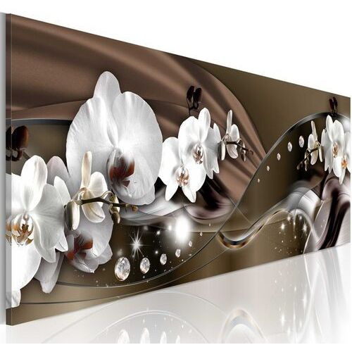 Obraz - czekoladowy taniec orchidei marki Artgeist