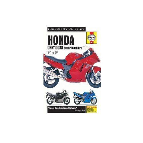 Honda CBR1100XX Super Blackbird Motorcycle Repair Manual, anonim