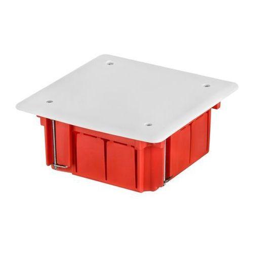 ELEKTROPLAST Puszka p/t do ścian karton gips INSTALL-BOX 89x89x50, ceglasty RAL 2012, 0260-00, 0260-00