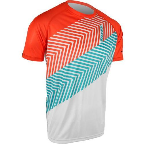 koszulka rowerowa seveso mt610 white-orange s marki Silvini