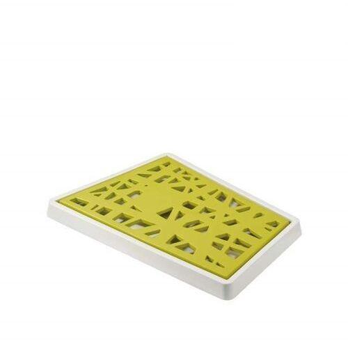 - deska do krojenia pieczywa matrix musztardowa 3255101 marki Koziol
