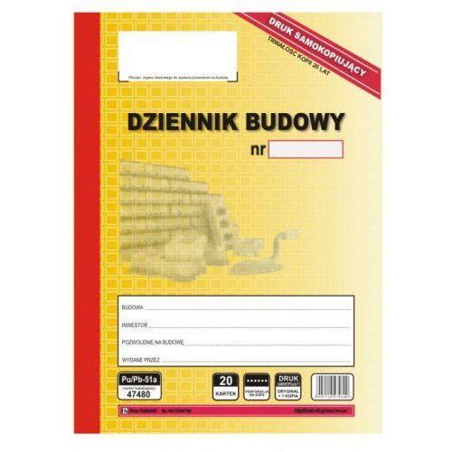 Dziennik budowy samokopiujący [Pu/Pb-51] (5907510474800)