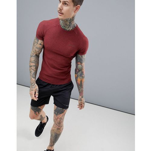 ASOS 4505 muscle t-shirt with quick dry in red twisted yarn - Red, w 7 rozmiarach