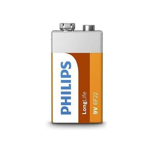 Bateria PHILIPS LongLife 6F22/9V (1 szt.) (8712581549558)