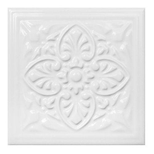 Dekor Armonia B Ceramstic 15 x 15 cm blanco (5908305652816)