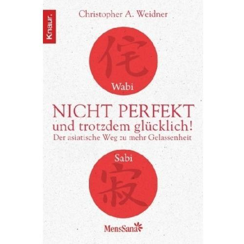 Wabi Sabi - Nicht perfekt und trotzdem glücklich! (9783426875049)