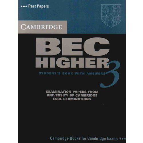 Cambridge BEC Higher 3 Podręcznik z Odpowiedziami, Cambridge ESOL
