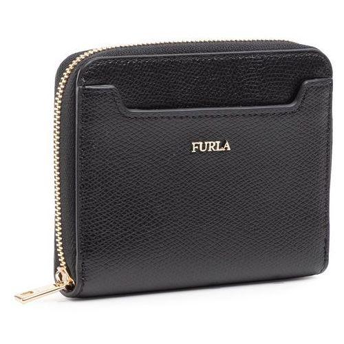 Mały portfel damski - astrid 1046980 p pcm0 are nero marki Furla