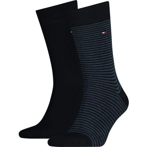 Tommy hilfiger Skarpety 2pack men small stripe sock 322