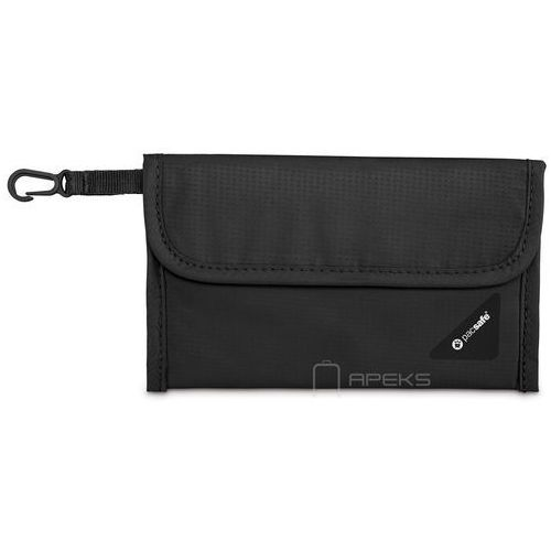 Pacsafe coversafe v50 portfel damski / męski - black
