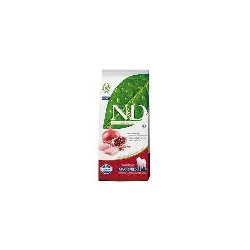 n&d chicken&pomegranate adult maxi 12kg marki Farmina