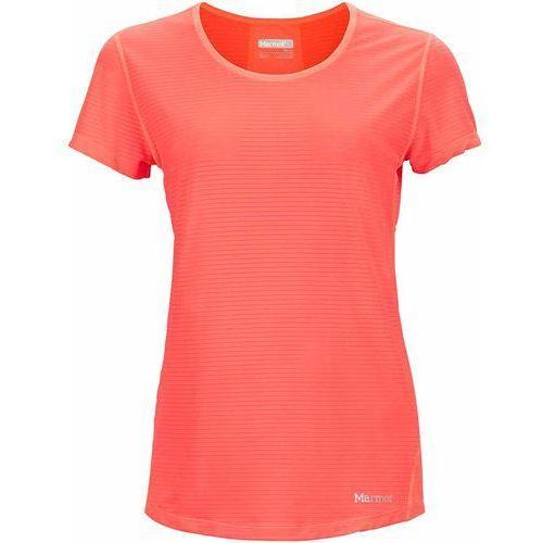 Marmot koszulka sportowa Wm's Aero SS Neon Coral L