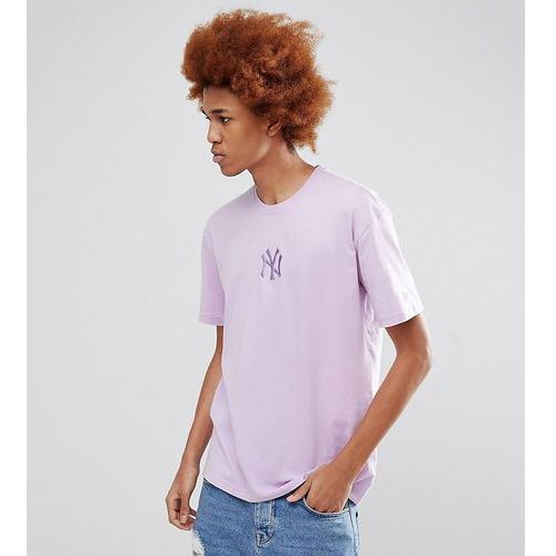 New era oversized new york yankees dodgers t-shirt exclusive to asos in lilac - purple
