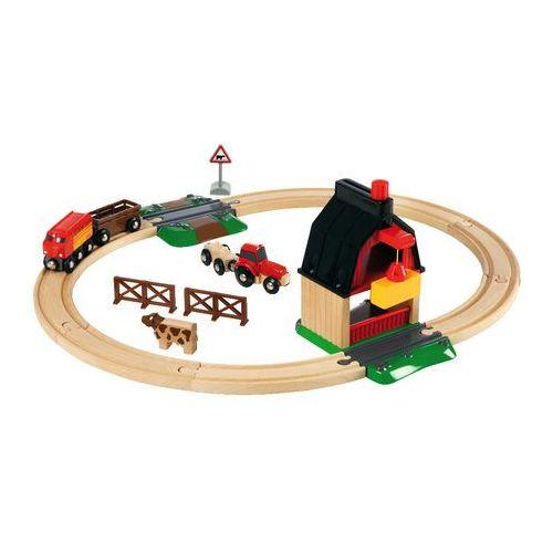Brio  pociąg na farmie 33719 (7312350337198)