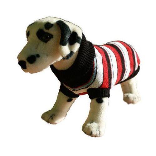sweter dla psa paski z czerwonym rozmiary 1-6 marki Ami play