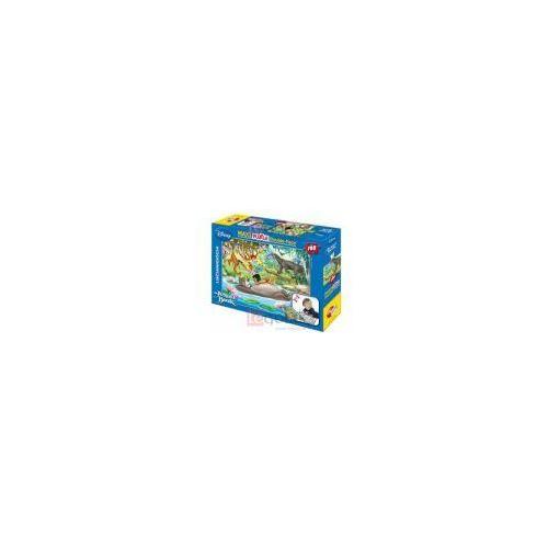 Lisciani Puzzle dwustronne maxi księga dżungli 108
