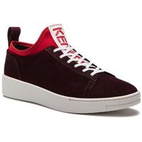 Sneakersy KENZO - F865SN136L56 Bordeaux 23, w 6 rozmiarach