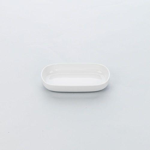 Półmisek z porcelany owalny biały 320 ml apulia 394400 394400 marki Stalgast