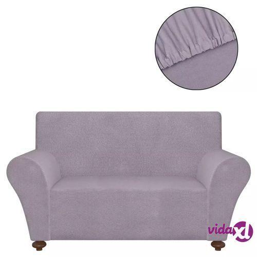 vidaXL Elastyczny pokrowiec na fotel, z dżerseju, szary