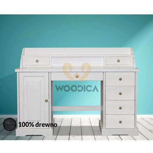 Biurko parma 38 [duże z nadstawką] marki Woodica
