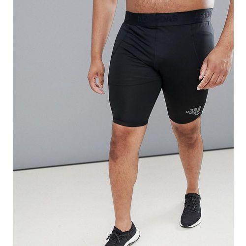 Adidas Plus Training Compression Shorts In Black CF7299 - Black