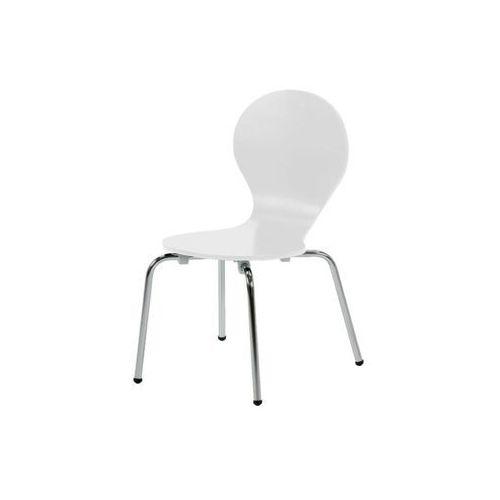 Krzesło Marcus - zestaw 4 szt., kolor biały
