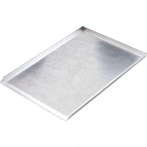 Stalgast blacha wypiekowa aluminiowa perforowana 3 ranty 1,5 mm (600x400) mm Stalgast