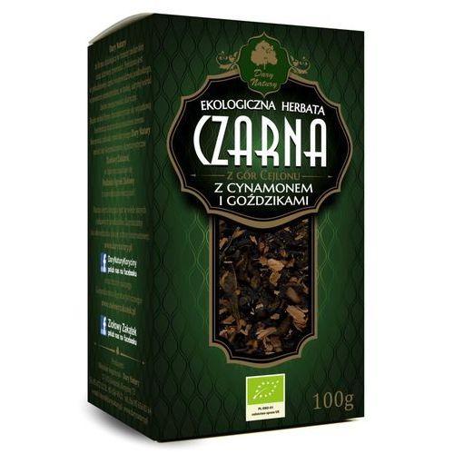 Herbata czarna z cynamonem i goździkami bio 100 g - dary natury marki Dary natury - test