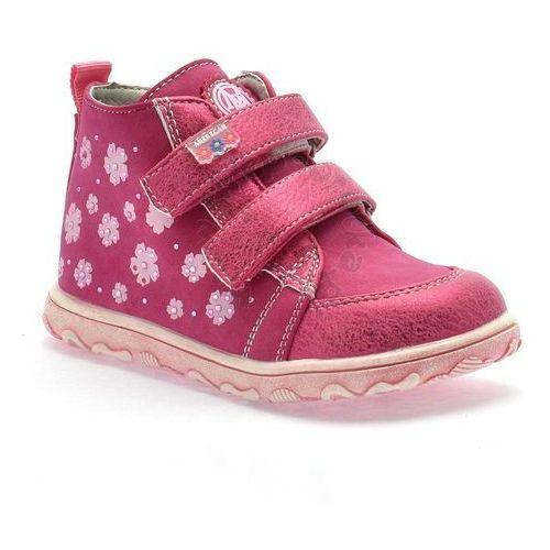 Trzewiki dziecięce American Club 6332-17 - Różowy, kolor różowy