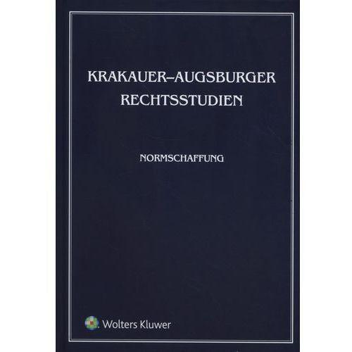 Krakauer Augsburger Rechtsstudien Normschaffung - Praca zbiorowa, oprawa twarda