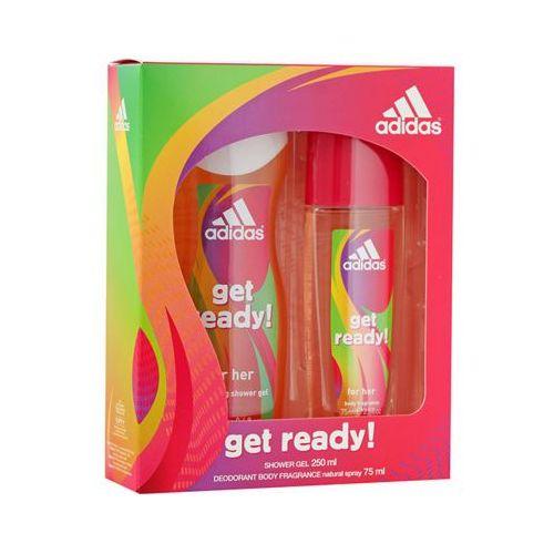 get ready! zestaw dla kobiet (dns + żel) marki Adidas