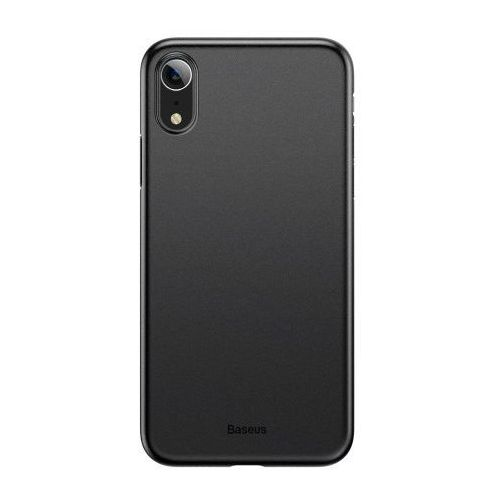 Baseus Wing Case Etui iPhone XR Czarne, kolor czarny
