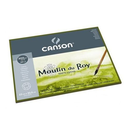 moulin du roy® papier akwarelowy 30x40/12 fin marki Canson