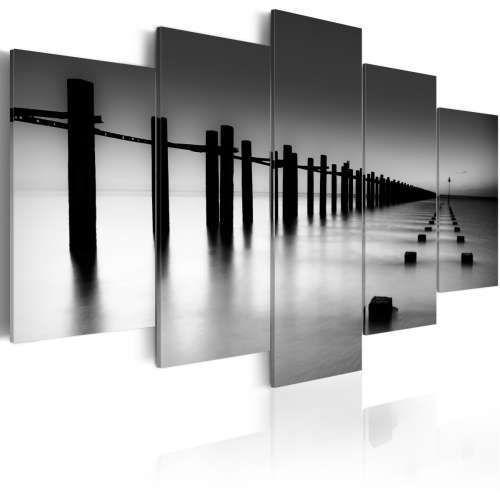 Artgeist Obraz - melancholijny widok na morze, kategoria: obrazy
