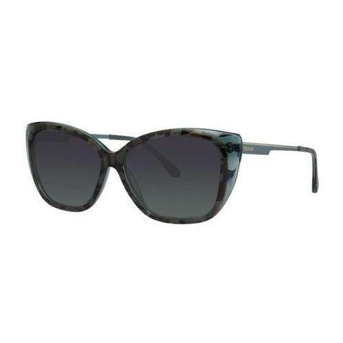 Vera wang Okulary słoneczne v442 teal tortoise
