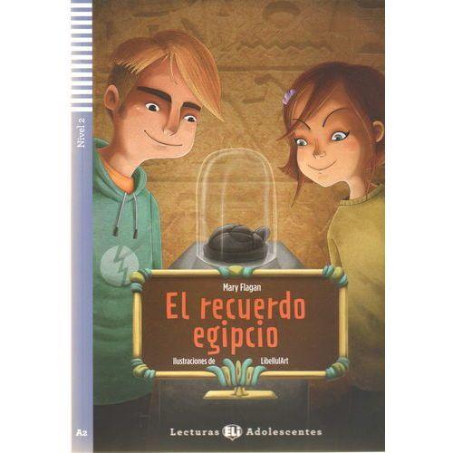 Lecturas ELI Adolescentes - El recuerdo egipcio + CD Audio (opr. miękka)