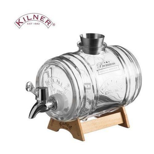 Szklana beczułka na alkohol,  1.0 l marki Kilner