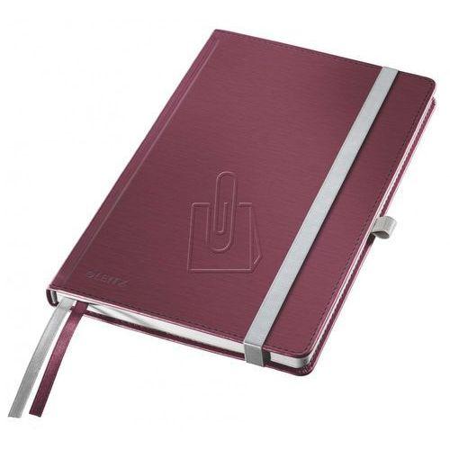 Leitz Notatnik  style a5 twarda oprawa czerwony 44860028 (4002432106837)