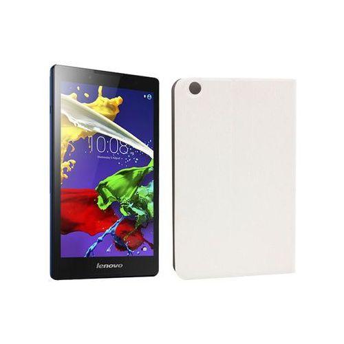 Etuo flex book Lenovo tab 3 a8-50 - etui na tablet flex book - biały