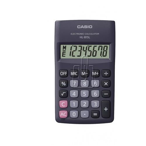 Kalkulator CASIO HL-815L-BK (4971850163039)