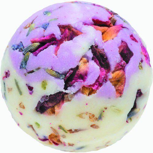 Bomb Cosmetics Flower Power - kremowa kuleczka do kąpieli